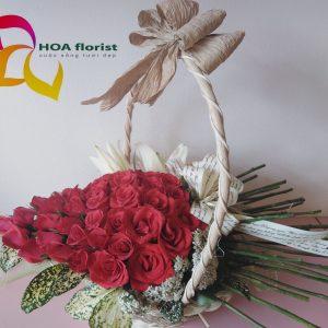 bùa yêu, giỏ hoa, hoa tươi, hoa hồng, giỏ hoa hồng, hoa hồng đỏ