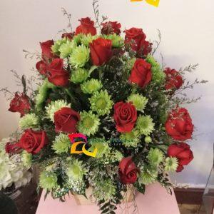 chan hòa, lẳng hoa, hoa tươi, hoa hồng, hoa hồng đỏ, điện hoa trực tuyến, đặt hoa trực tuyến