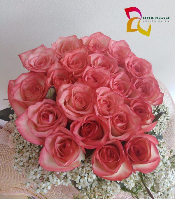 my princess, lẳng hoa, hoa tươi, hoa hồng, lẳng hoa hồng, hoa đẹp